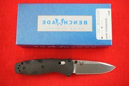 Benchmade - Mini Barrage 585 Knife, Drop-Point Blade, Plain