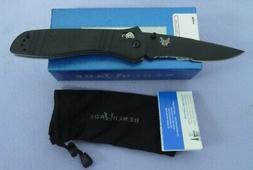 BENCHMADE KNIFE 710SBKD2 710SBK FOLDING BLADE SERRATED NEW I