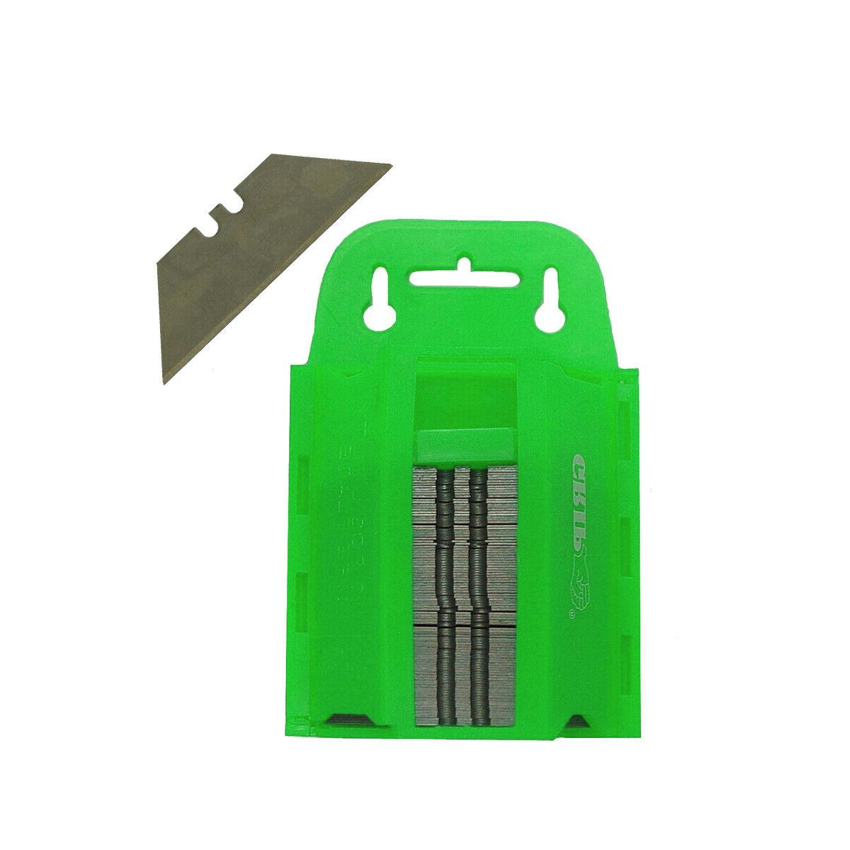 100pc utility knife blades razor blades box