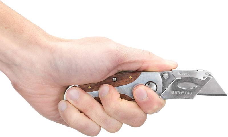 Sheffield Lock Folding Box Cutter Clip