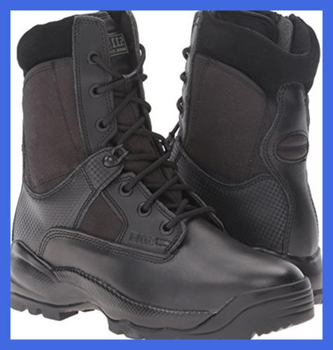 5.11 8In Boot BLACK 8.5 D M FREE SHIPPING Unisex Adult