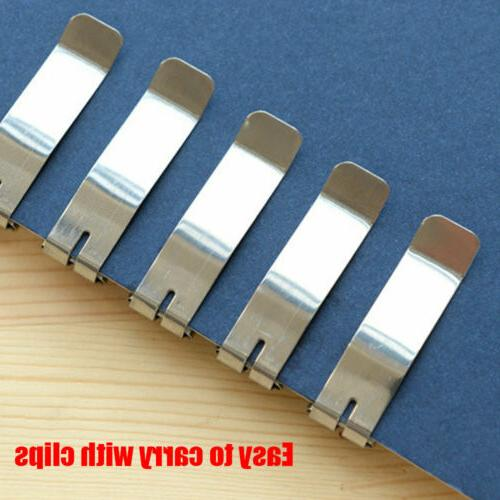 5pcs Stainless Utility knife Blade Cutter
