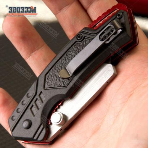 "6.5"" CAMPING Open Warehouse Folding Knife"