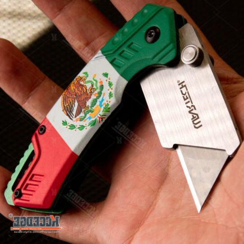 "6.5"" Open Utility Folding Knife Razor"