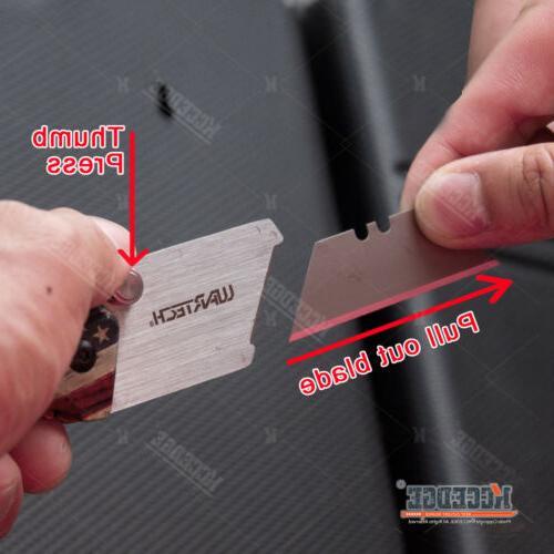 Open Warehouse Utility Folding Knife