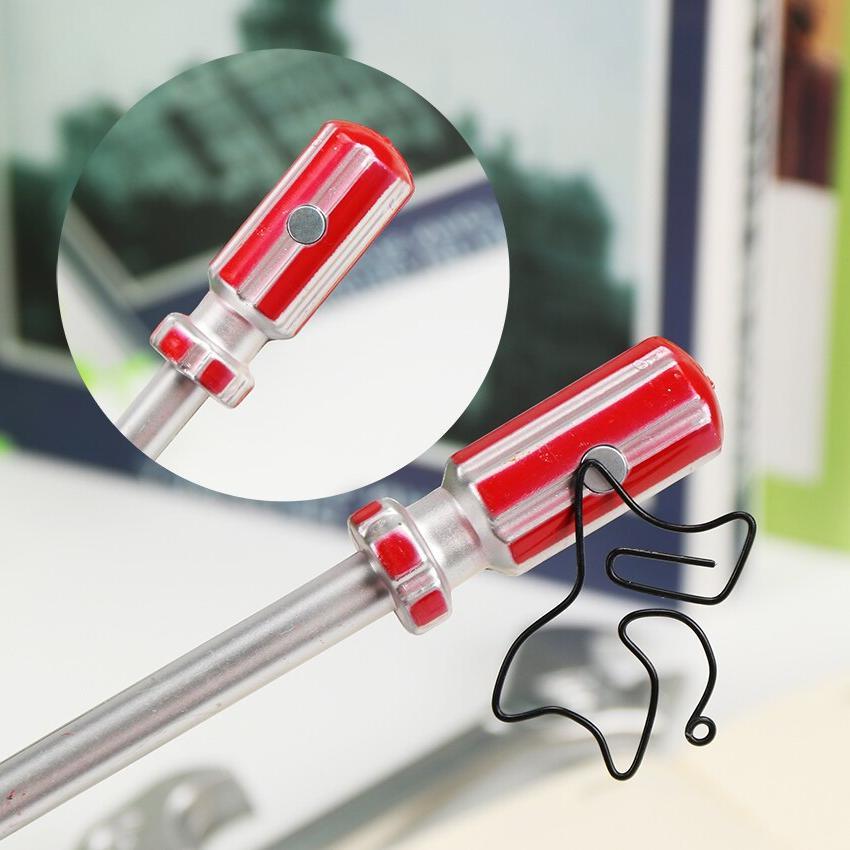 6PCS Personality Korean Ballpoint Pens Quality Hammer <font><b>Utility</b></font> Pen