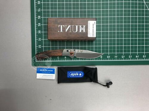 Benchmade - Crooked River 15085-2 EDC Manual Open Hunting Kn