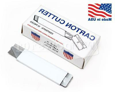 Carton Cutter  Made in USA Compact Utility Retractable Knife