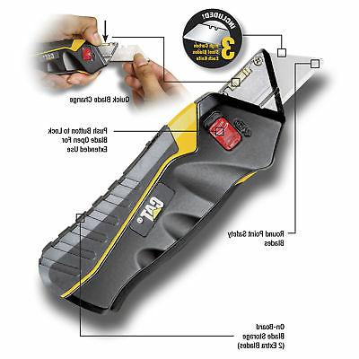 Cat Safety Knife Box Self-Retracting with 240071