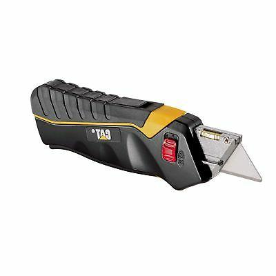 Cat Safety Utility Knife Box Cutter Self-Retracting Blade wi