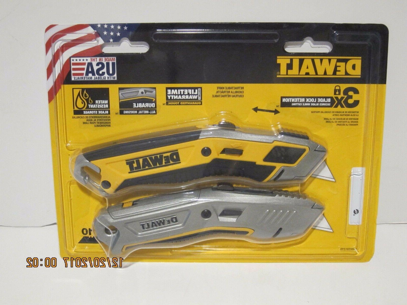 Dewalt DWHT81270 Retractable Utility Knife  FREE PRI-SHIP, N