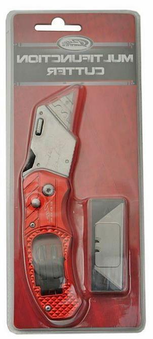 Folding Knife Box 5 Blades Bits