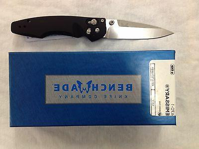 NEW Benchmade 470-1 Emissary S30V Axis Lock Assisted Opening
