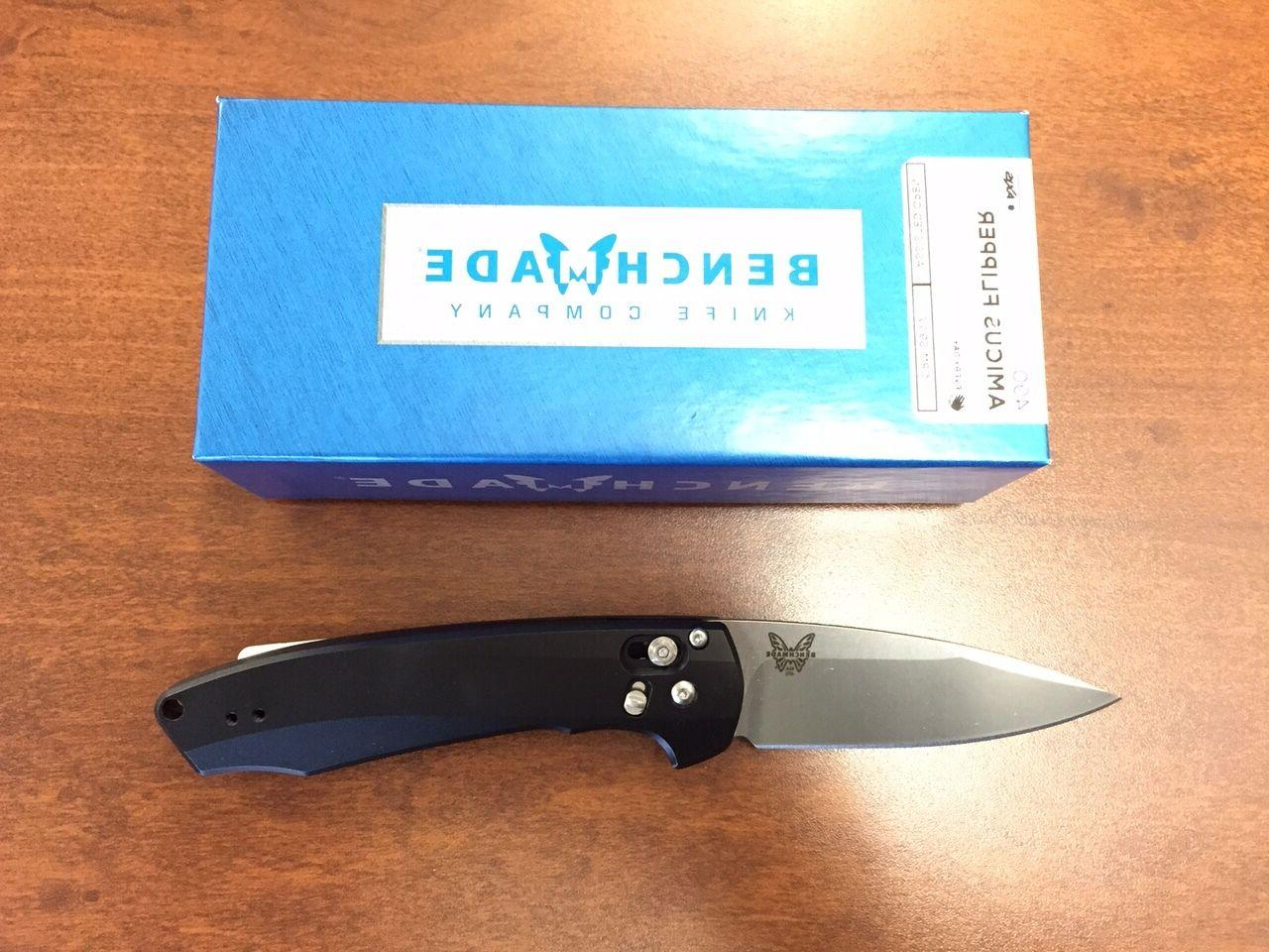 NEW Benchmade 490 Arcane Axis Lock Assisted Opening Flipper