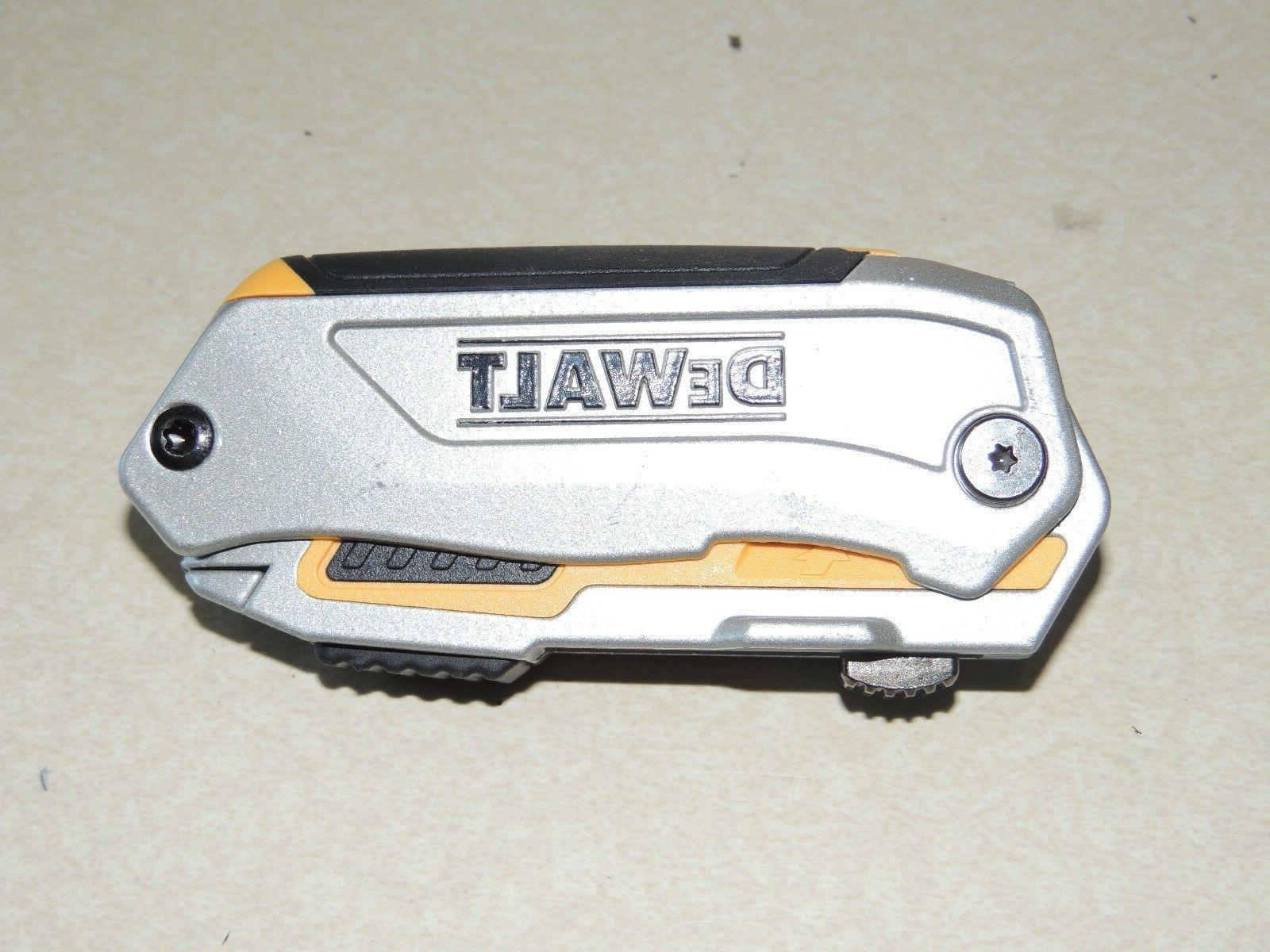 NEW! DEWALT-DWHT10296 Folding Retractable Utility Knife Box