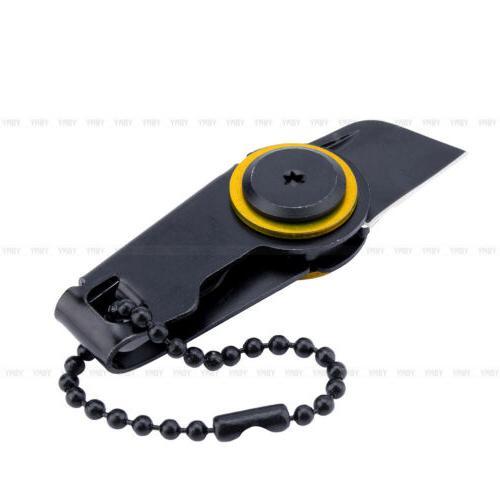 black mini edc knife shiv