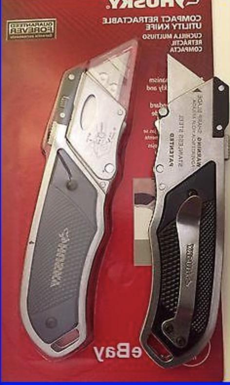 Husky Utility Knife Cutter Quick