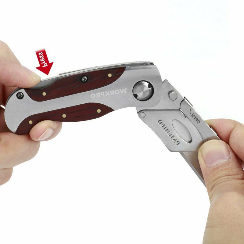 Box Utility Knife Folding Hook Handle