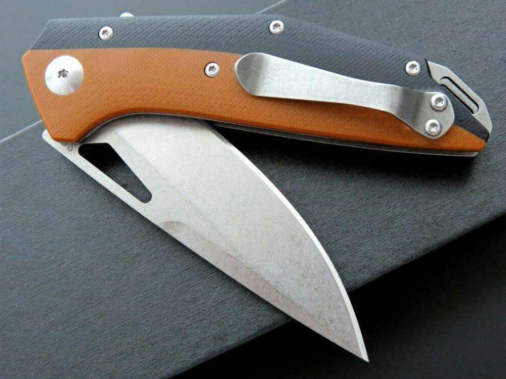 D2 G10 Handle Ball System Knife