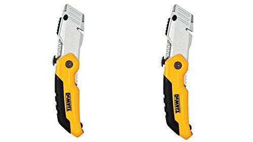 dwht10035l folding retractable utility knife
