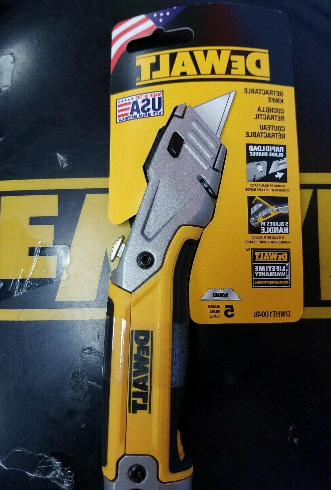 DEWALT DWHT10046 RETRACTABLE KNIFE DEWALT NEW