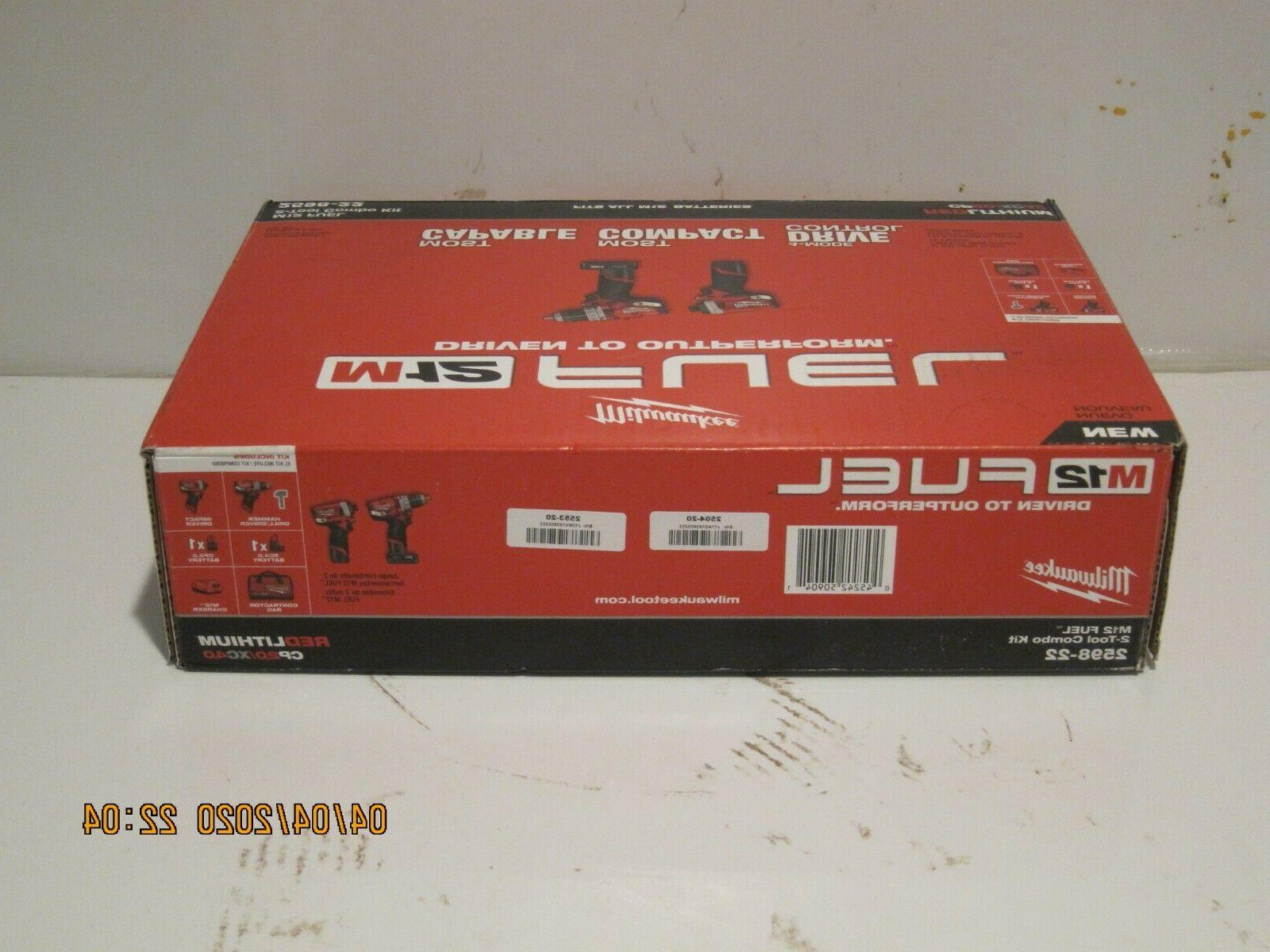 Milwaukee FUEL 2-Tool Hammer & Hex Impact Driver F/SP