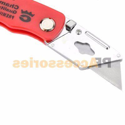 Knife Box 5 Extra Blades Belt Clip
