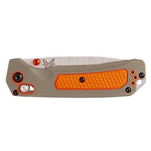 Benchmade - 15061 Manual Hunting Knife in USA, Drop-Point Blade, Plain Edge, Satin