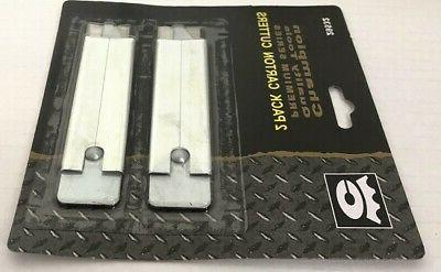 LOT OF Carton Box Cutters Pocket Utility Retractable Blades NEW