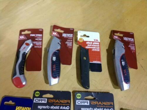 Lot of Utility Knife Irwin Fiskars