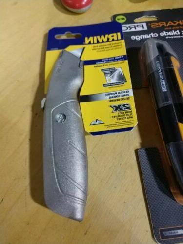 Lot 8 Knife Dewalt Irwin Fiskars Ace