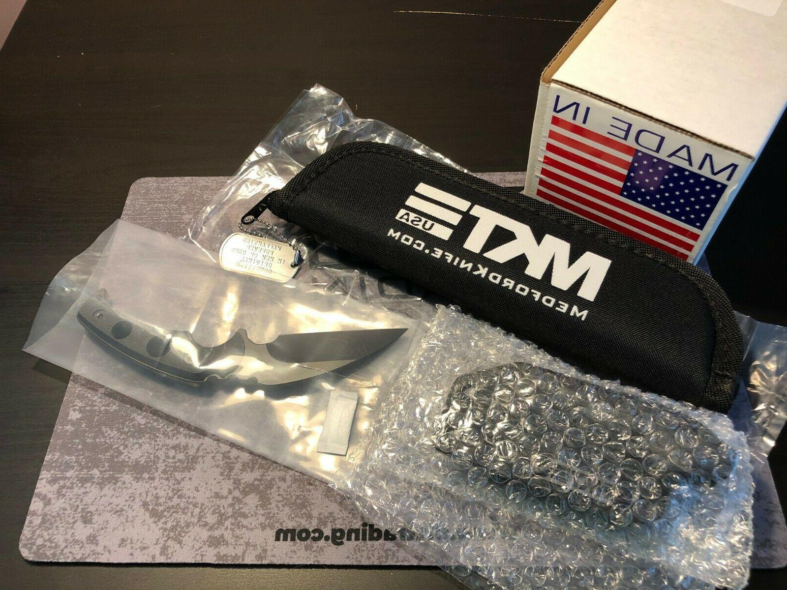 Medford Knife - Fighting Utility Knife  - PVD S35VN - Black