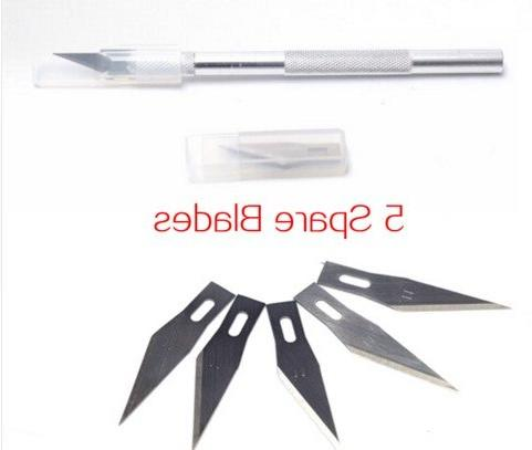 Non-Slip Metal <font><b>Utility</b></font> Wood Carving Stationery