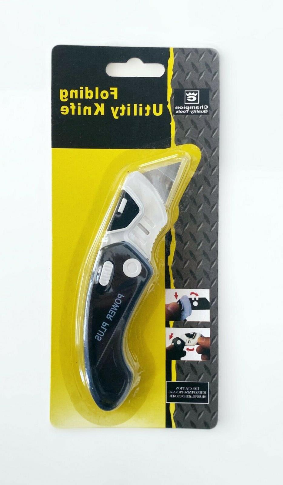 pocket knife folding lock back utility box