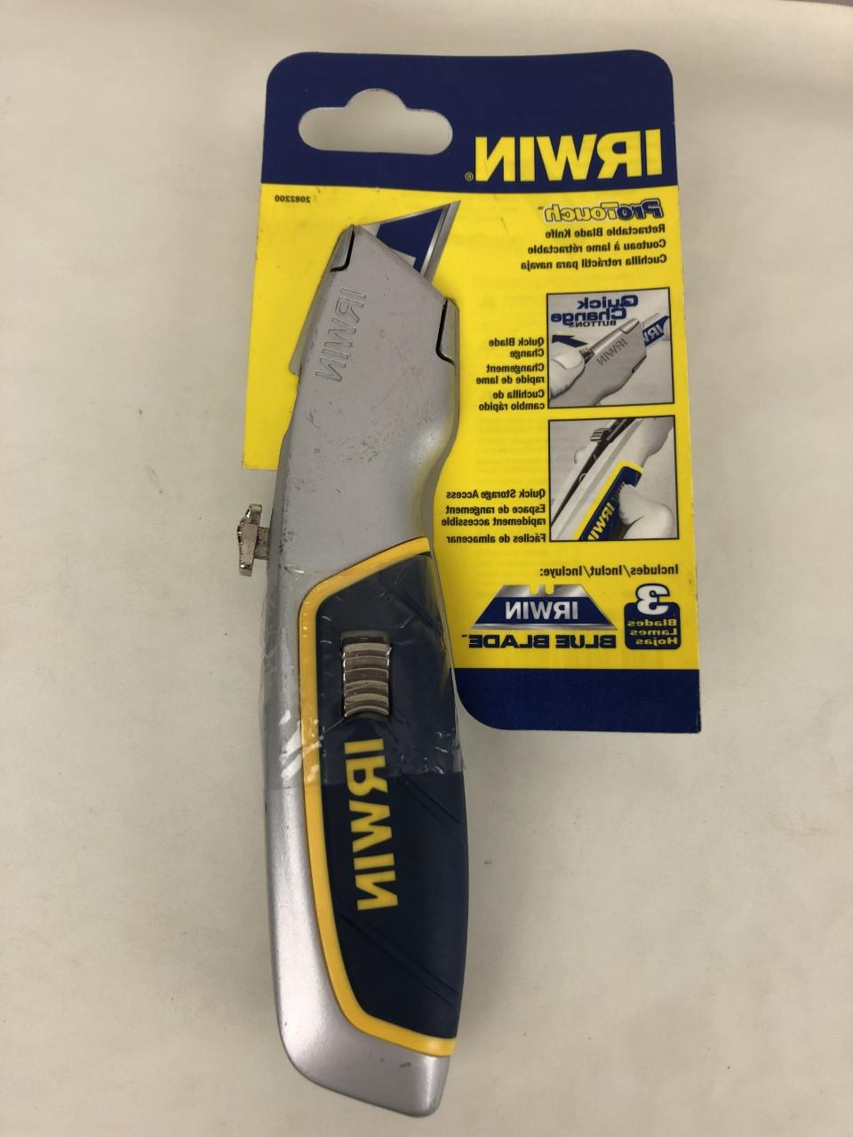 Irwin ProTouch Retractable Utility Knife - 2082200