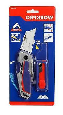 Workpro Quick-Change Folding Utility Knife With W011032WE