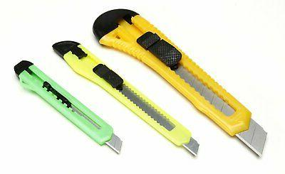 retractable razor knife set