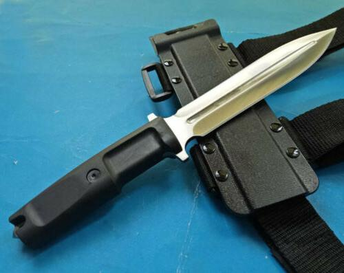 SHARP DAGGER UTILITY BOOT CAMPING RESCUE BOWIE HUNTING