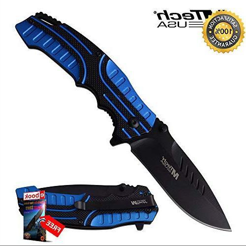 spring assisted folding sharp knife