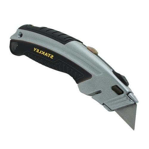 instantchange stainless retractable utility knife