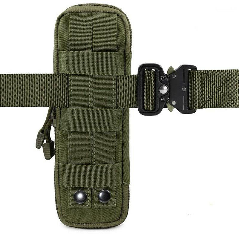 Outdoor Pouch MOLLE Belt for Flashlight