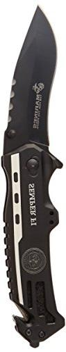 U.S. Marines by MTech USA USA M-A1002DP SPRING ASSISTED KNIF