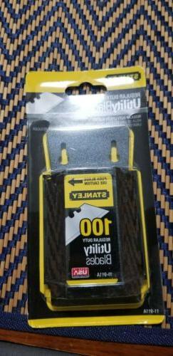 Stanley Wall Mount Utility Knife Blade Dispenser w/Blades, 1