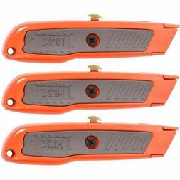 Lot of 36 HDX Utility Knife Set Tools Knives Blades Retracta