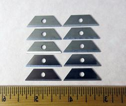 Mini Utility Blades -10 Pack - Box Knife Blade Replacement -