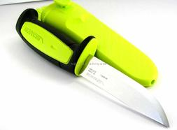 Mora 511 Lime Green and Black Carbon Steel 2017 Edition Mora