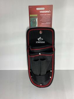 Husky Multi Tool Belt Utility Pouch Black Heavy Duty Water R