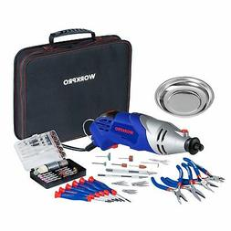 WORKPRO Multi-function Rotary Tool Kit Variable Speed with U