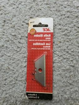 ACE 1013796 Utility Knife Blades, 5 pc .025 in Blade