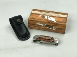 NEW Vermont 2 in 1 Folding Utility Knife Box Cutter with Cli